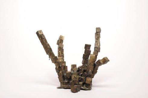 Cubes #1, Bronze