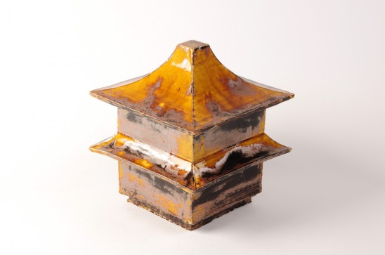 Pagoda, Brush'n'Glo Ceramic