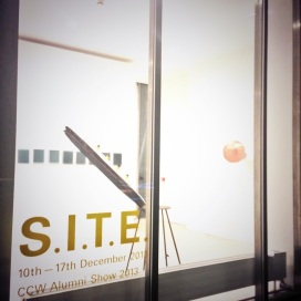 Installation View of SITE CCW Alumni Exhibition