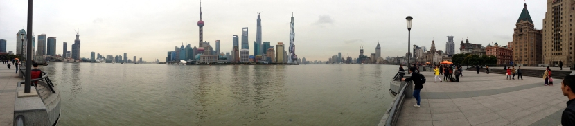 Shanghai view from The Bund