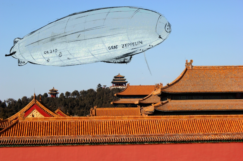 Graf Zeppelin in The Forbidden City