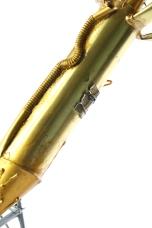 'UXB', Brass, bronze powder, cocktail sticks and denta-stone, 66H x 34W x 26D CM, 2015