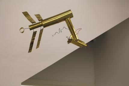 High Flyer, Brass, 2015 (Photo G Baldari)