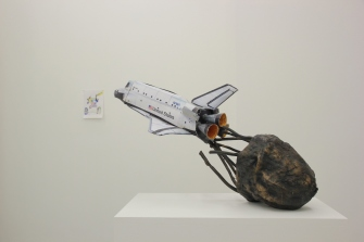 Discovery, Bronze and Paper, 2014