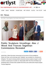 http://www.artlyst.com/articles/public-sculpture-unveilings-alex-j-wood-and-frances-segelman-commissions-revealed