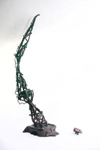 The Towering Crane, Bronze, 2016