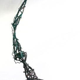 The Towering Crane, Bronze, 2016