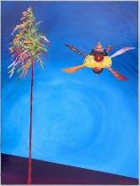 Kerwebaum 2.0, Acrylic on canvas, 30 x 40cm, 2017